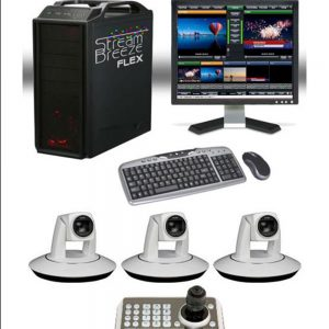 3 Camera Video Switcher Package – Live Stream Services and Events