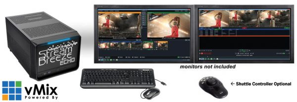 Stream Breeze Echo Professional Instant Replay System – 4 Channel Iso-recorder
