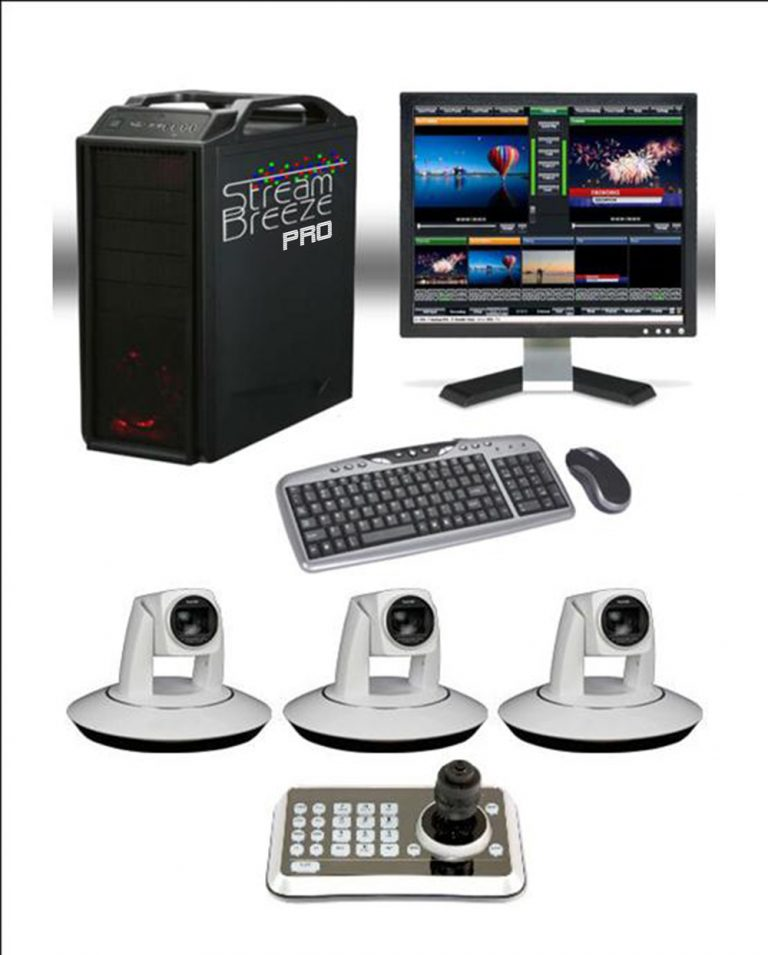 3 Camera SDI Video Switcher Package – Live Stream Services and Events