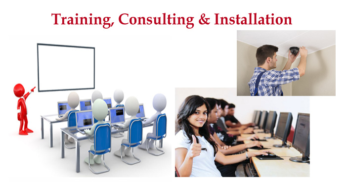 Training, Consulting & Installation for video equipment, production software, streaming computers.