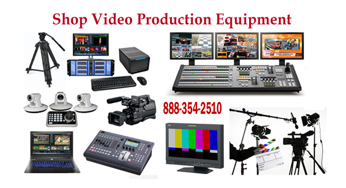 Professional Broadcast Video Production Equipment, comsumer Electronics, Repairs, Rentals and more.