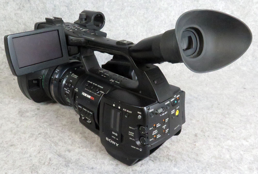Sony PMW-EX1 XDCam Camcorder, 820 hours
