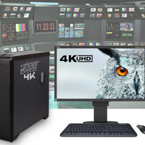 Stream Breeze 4k – Live Event Switching, Streaming,  Editing and 4k UHD Video Production