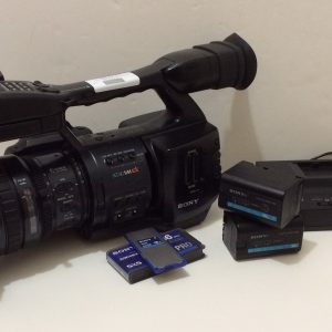 Sony PMW-EX1 Flash Media Camcorder Bundle 550 hours