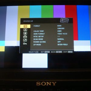 "SONY PVM-740 7.4"" OLED HD-SDI / HDMI COLOR MONITOR"