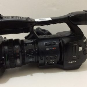 Sony PMW-EX1 XDCam Camcorder, Parts / As Is Bad Hood No Clip Playback No Mic Holder