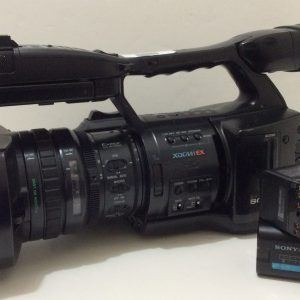 Sony PMW-EX1 XDCam Camcorder, 845 hours No mic holder on Camera