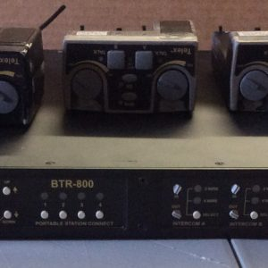 Telex RadioCom BTR-800 C3 Band with 3 Telex TR-825