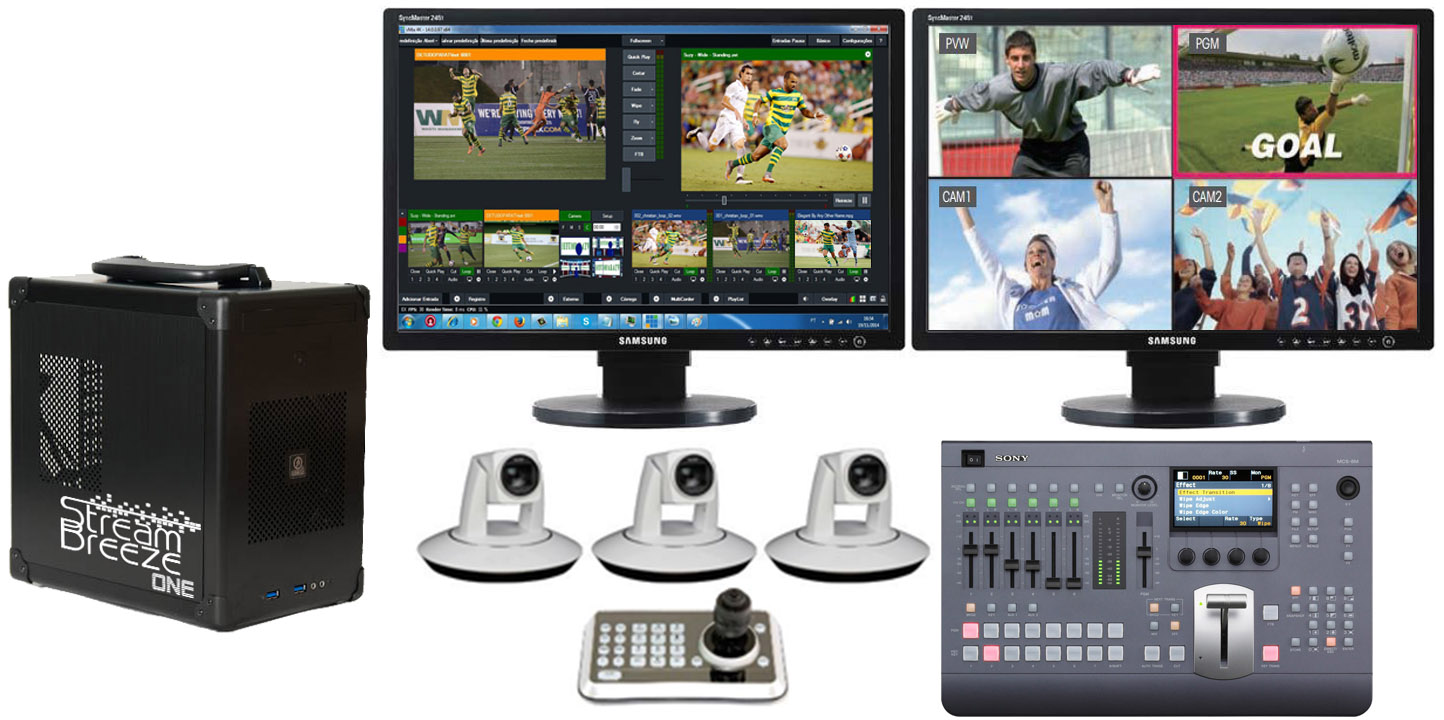 Affordable Live Event Video Switching and Streaming System