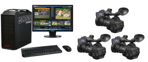 Live Streaming Starter Package with Stream Breeze Pro with PMW-EX1R