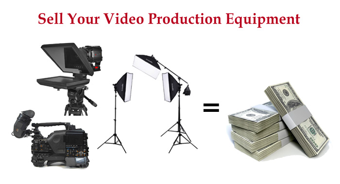 Sell Your Video Equipment Broadcast Audio Gar Lighting Tripods And More