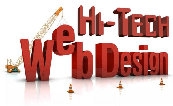 Hi-Tech Web Design Logo